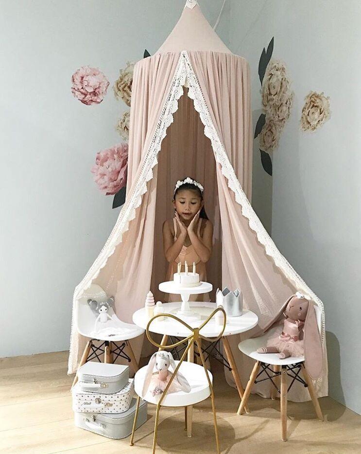 Ciel de Lit Bébé | Chapiteau Rose Pastel