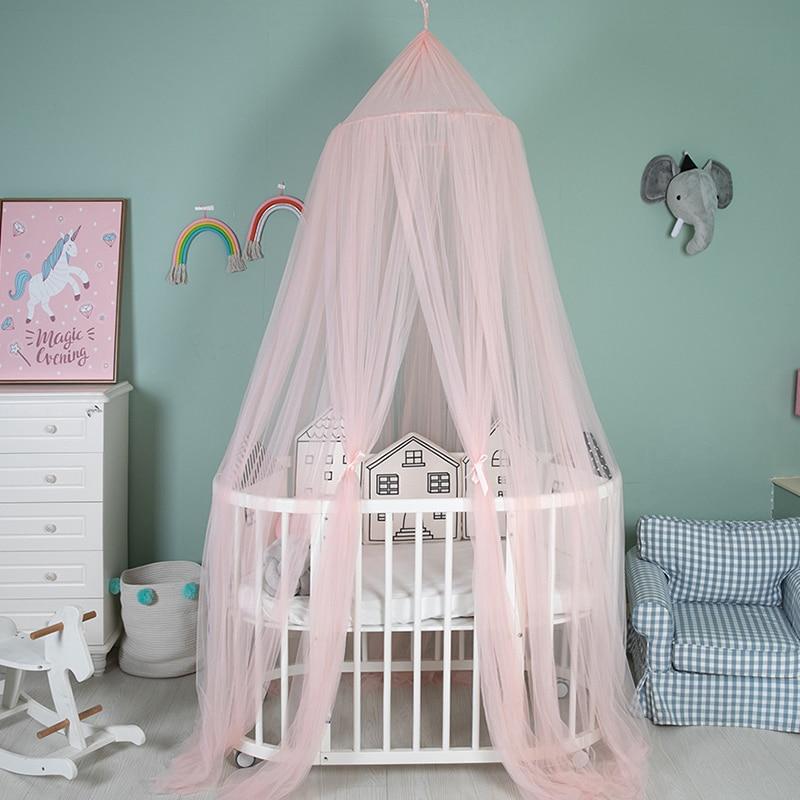 Ciel de Lit Bébé | Rose Transparent