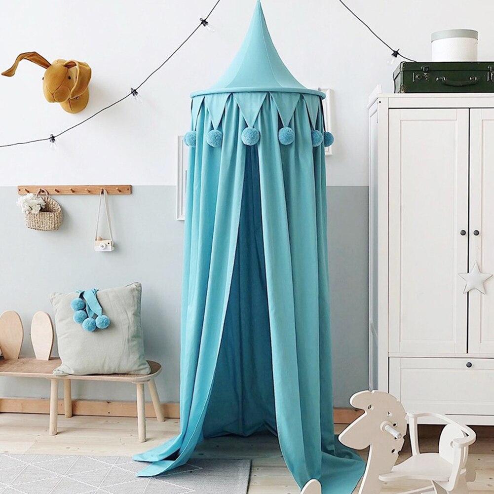 Ciel de Lit Bébé | Chapiteau Bleu Turquoise