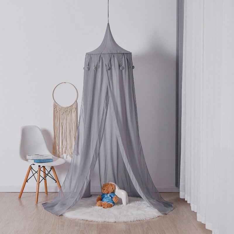 Ciel de Lit Bébé | Petit Chapiteau Gris