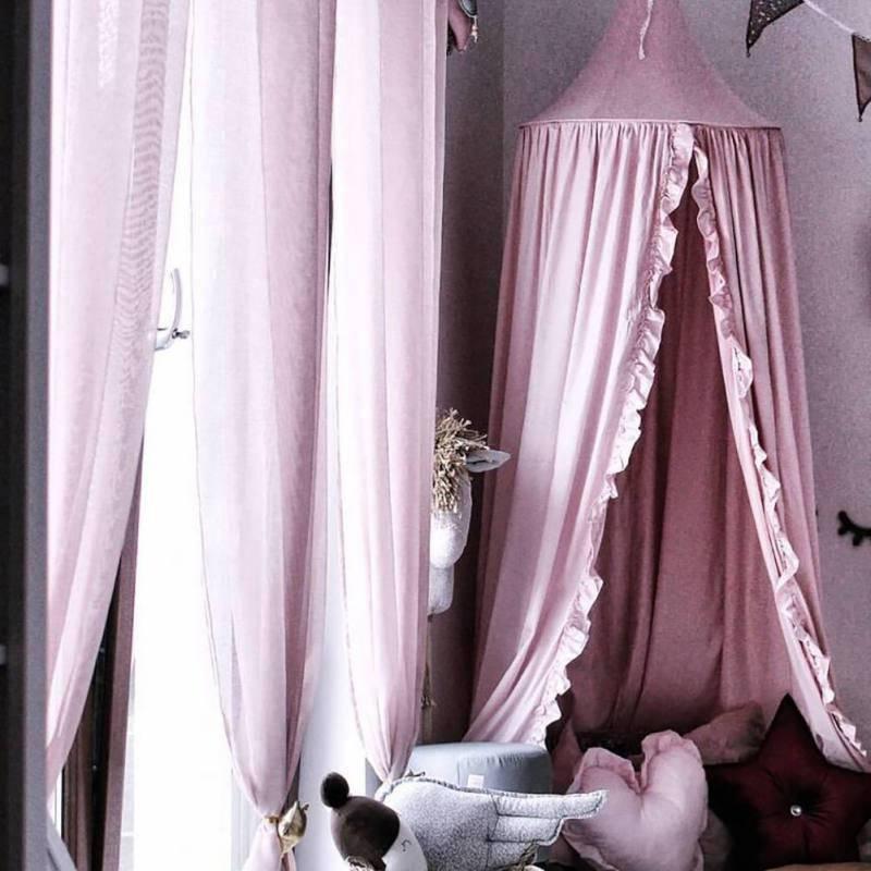 Ciel de Lit Bébé | Rose Guimauve