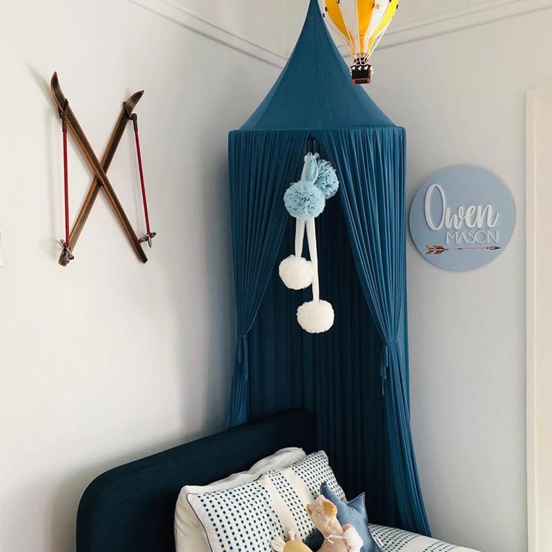 Ciel de Lit Bébé | Chapiteau Bleu Roi