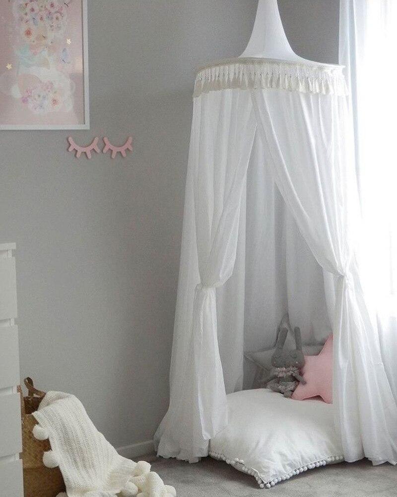 Ciel de Lit Bébé | Blanc Argile