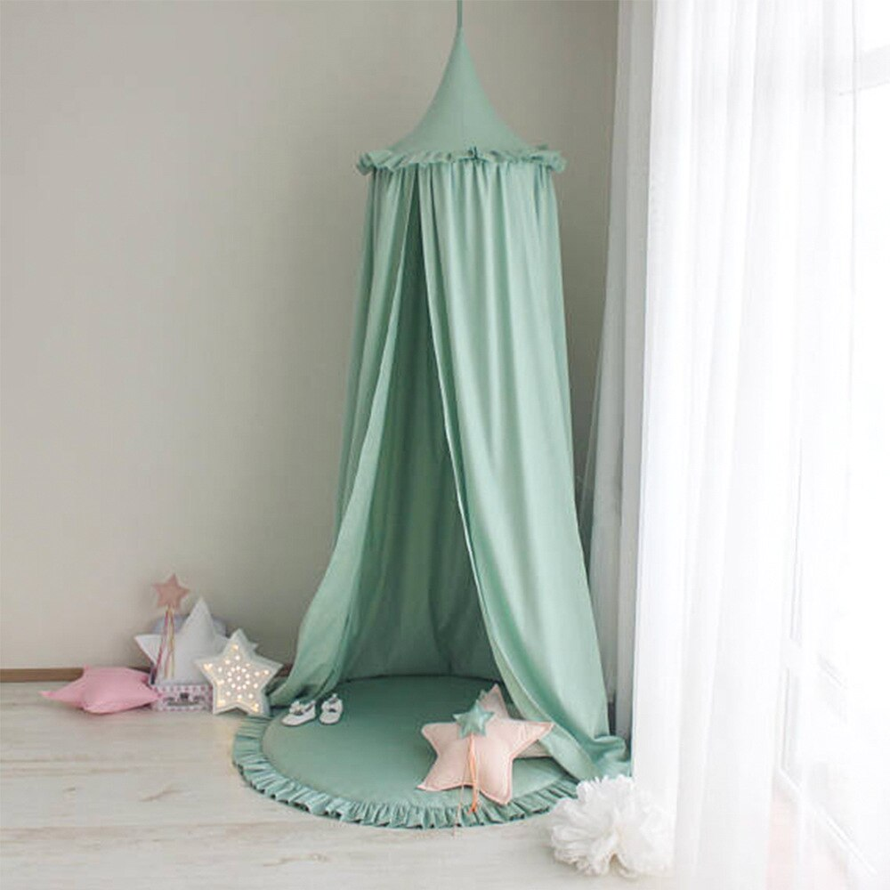 Ciel de Lit Bébé | Vert Amande