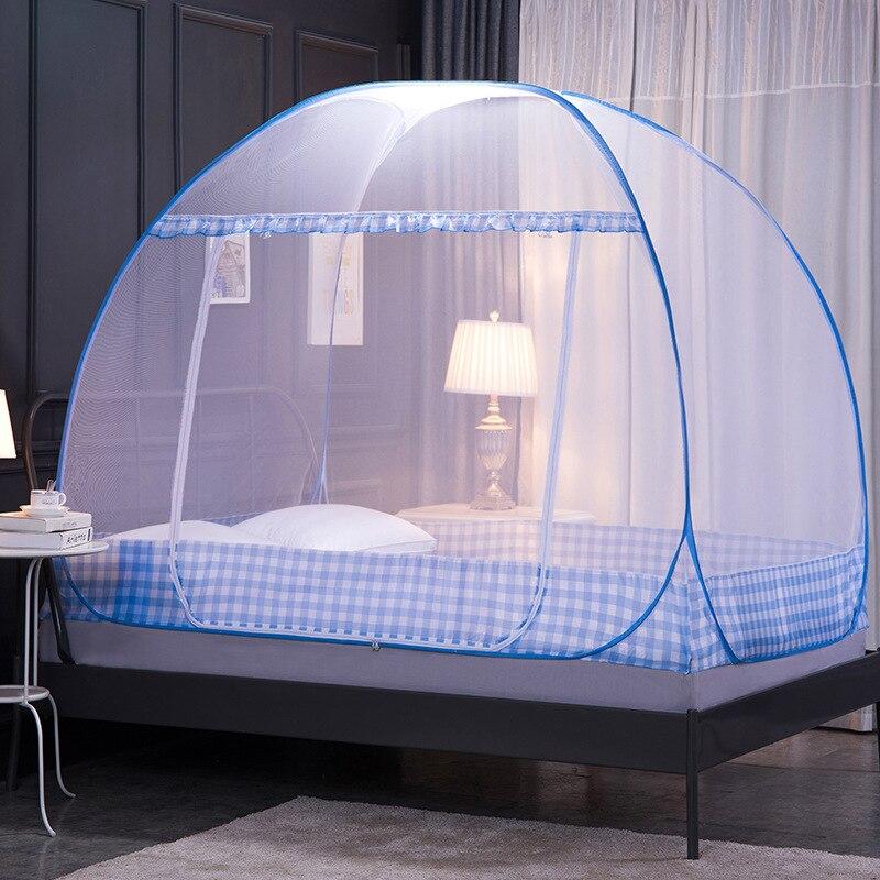 Moustiquaire Lit 2 Places | Bleu Ciel Design Minimaliste