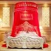 Ciel de Lit Adulte Rouge   Style Chinois Image 2