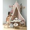 Ciel de lit bébé   Chapiteau Rose image 2