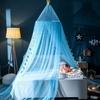 Ciel de Lit Bébé | Bleu Clair | Tissu Tombant