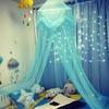 Ciel de Lit Bébé | Bleu Clair Tissu Léger