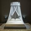 Ciel de Lit Adultes | Blanc Tissu Léger