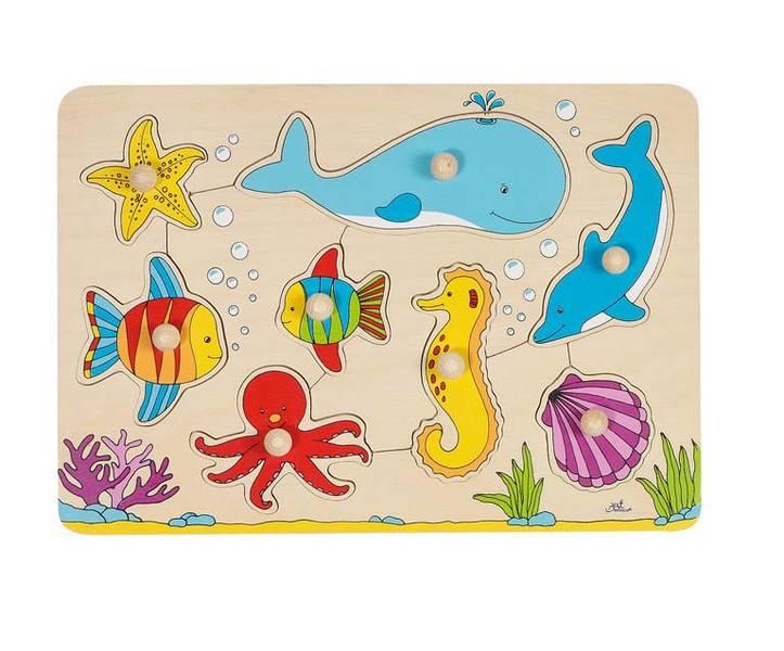 Houten puzzel Onderwater wereld GOKI