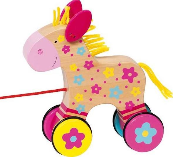Trekdier Clahra het paard GOKI