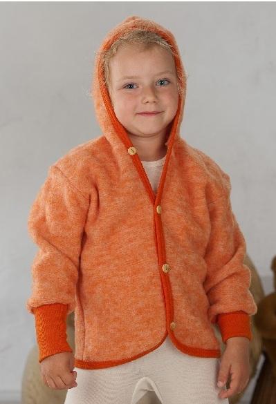 Cosilana Vest met capuchon Oranje
