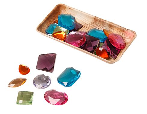 XXL Glimmende stenen van acryl - 28 stuks GRIMM\'s