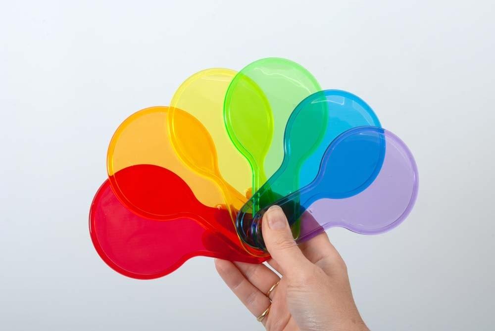 TickiT Palettes de couleurs - Lot de 6