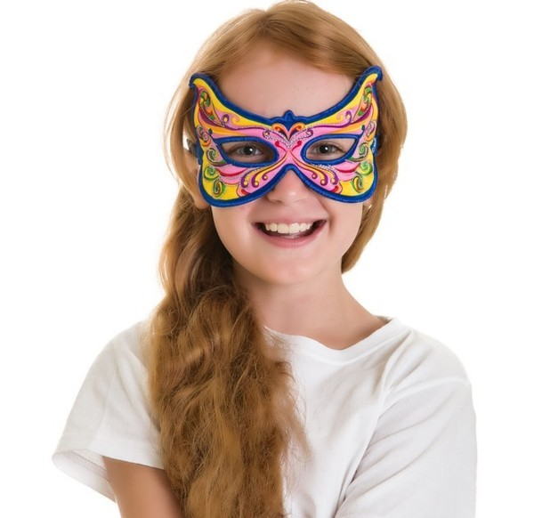 Masker Regenboog Fee - Dreamy Dress-Ups