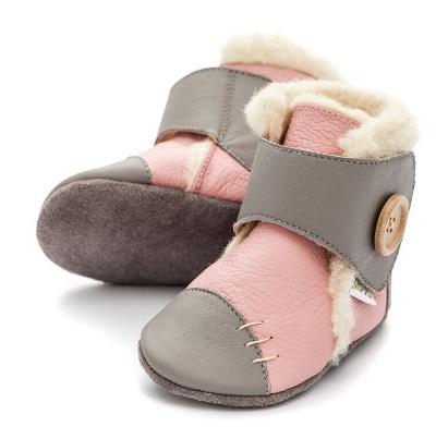 Liliputi Babyboots Snowflake Pink