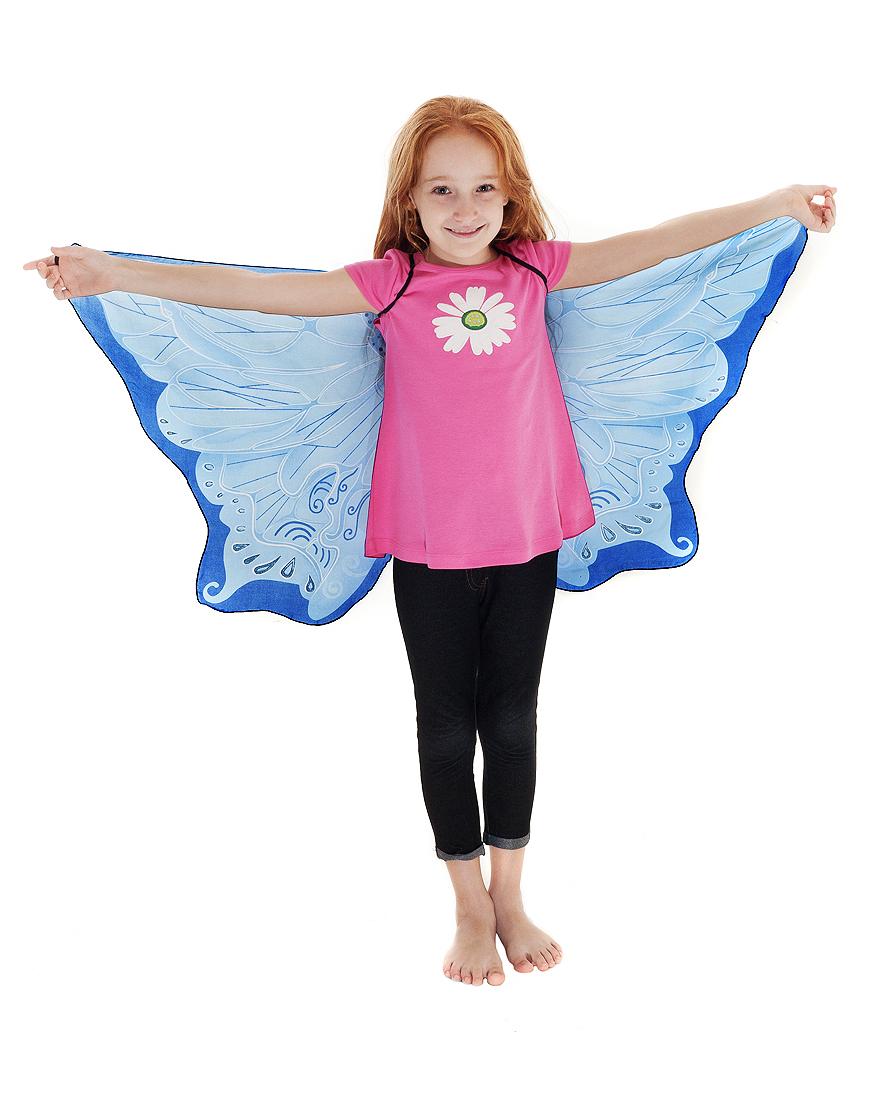 Blauwe Feeën Vleugels - Dreamy Dress-Ups