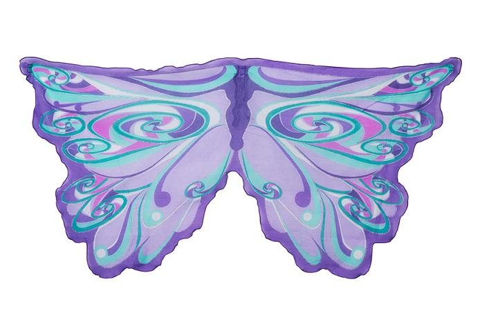Vleugels Fee Paarse regenboog Dreamy Dress-ups