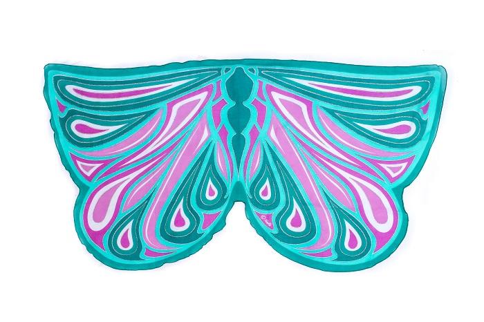 Vleugels Fortune groene Fee Dreamy Dress-Ups