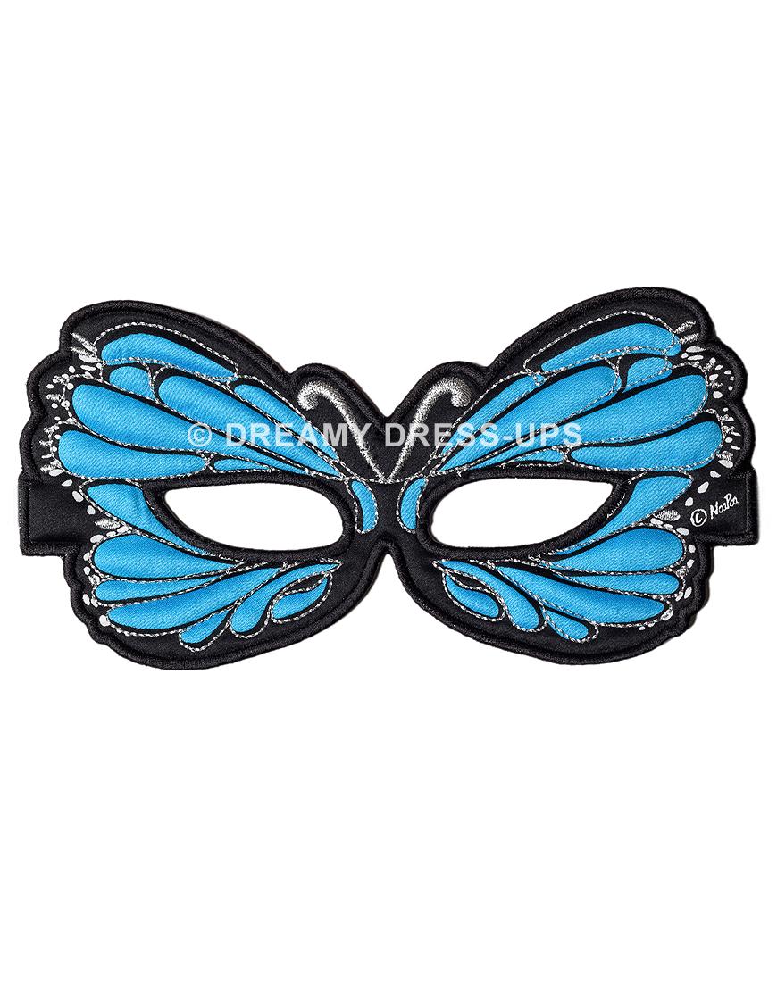 Masker Blauwe Vlinder – Dreamy Dress Ups