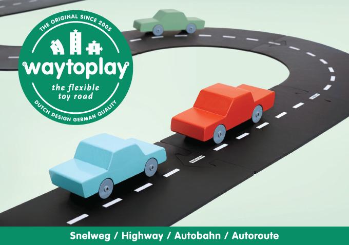 WaytoPlay Snelweg - 24 delen