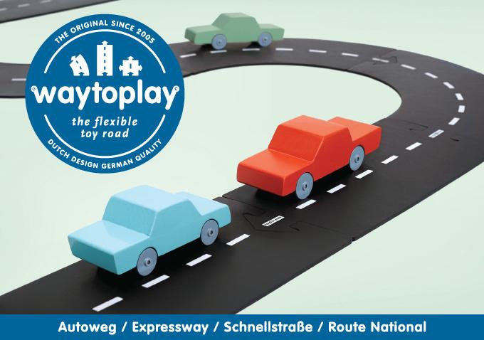 WaytoPlay Autoweg - 16 delen