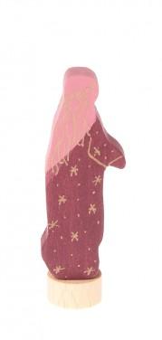 Figurine-en-bois-Fée-rouge-GRIMMs