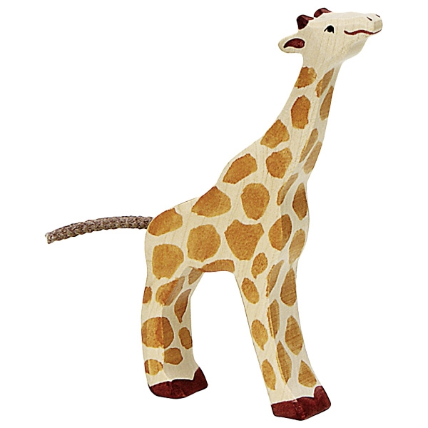 Girafon qui mange HOLZTIGER