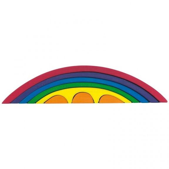 Regenboog bouw Brug - 8 onderdelen Glückskäfer