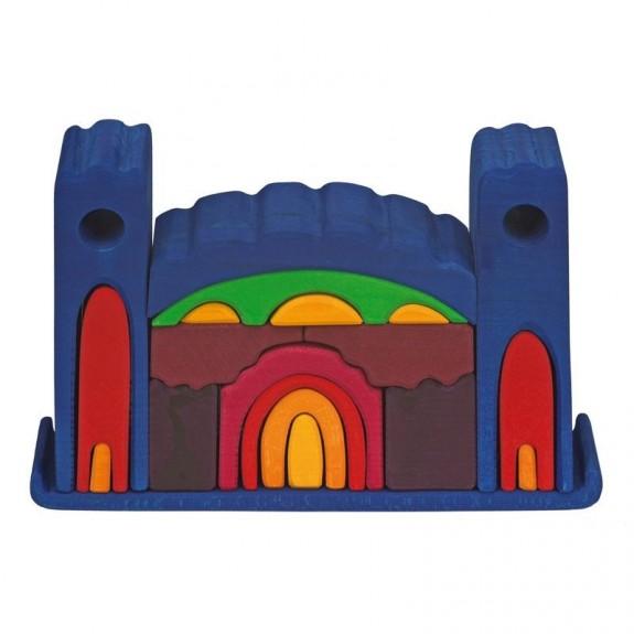 Groot kasteel alles in één Blauw Glückskäfer