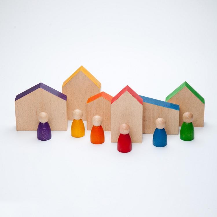 6 Huizen en 6 Nins® Grapat