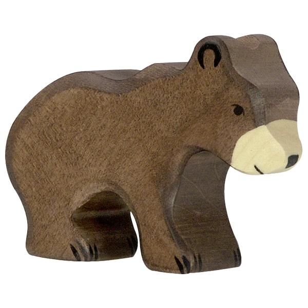 Ours brun, petit Holztiger