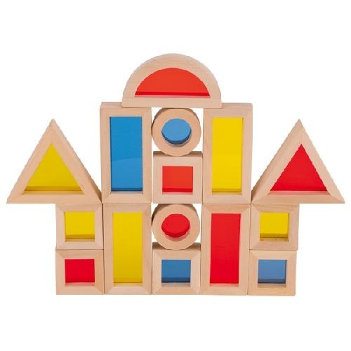 Jeu de construction avec fenêtres 16 pièces GOKI