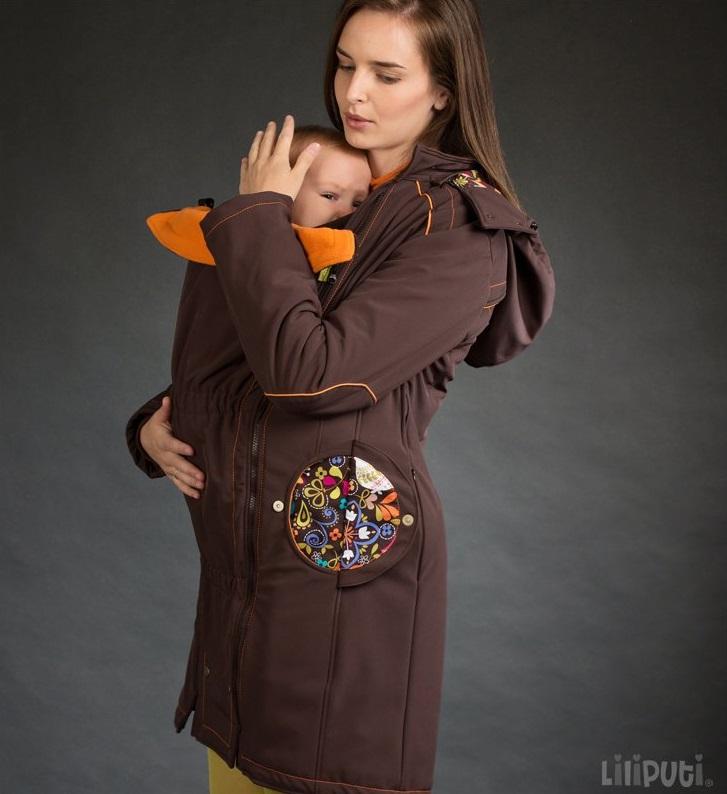 Liliputi Mamacoat draagjas & zwangerschapsjas 4 in 1 Folktale