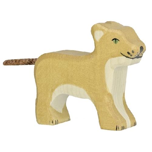 Petit Lion Debout Holztiger