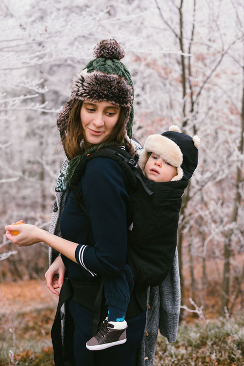 BECO Toddler draagzak Metro Black - vanaf 12kg