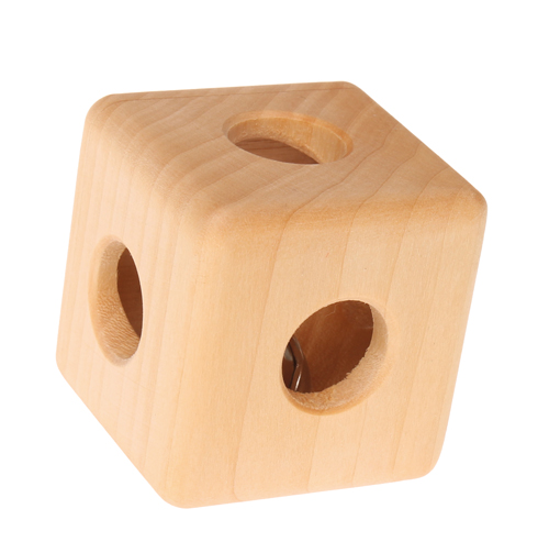 Hochet en bois cube GRIMM\'s