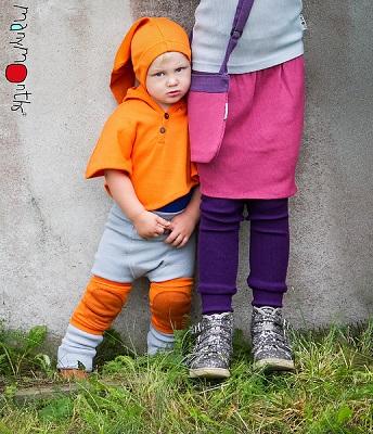 ManyMonths wollen multicape met capuchon - verschillende kleuren