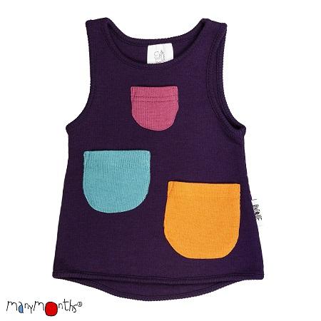 ManyMonths Wollen hemd met zakjes - Verschillende kleuren