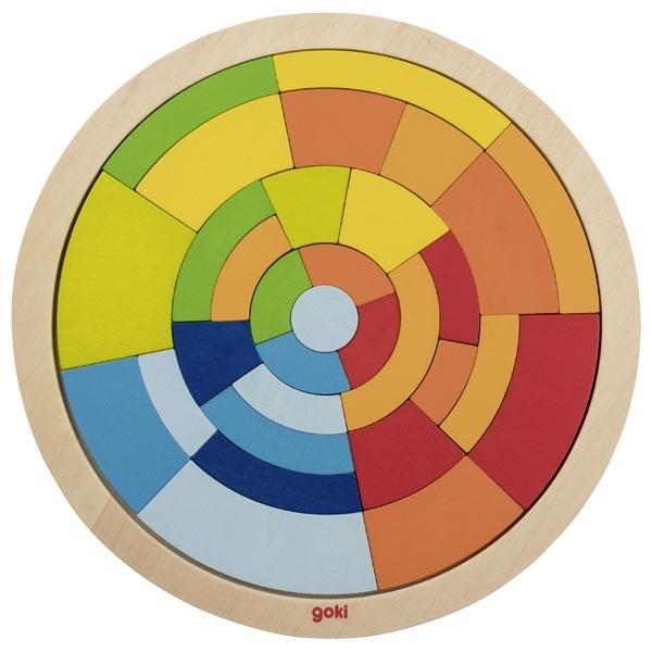 Puzzle en bois Cercle GOKI