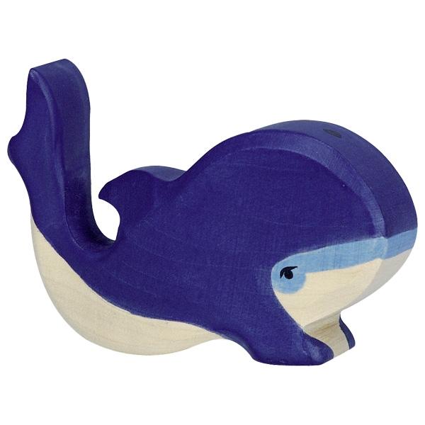 Baleine bleue, petite Holztiger