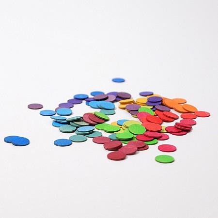 Regenboog Confetti van hout Grimm\'s