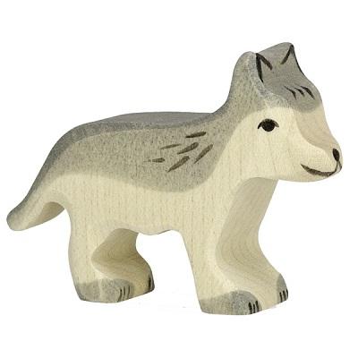 Loup petit Holztiger