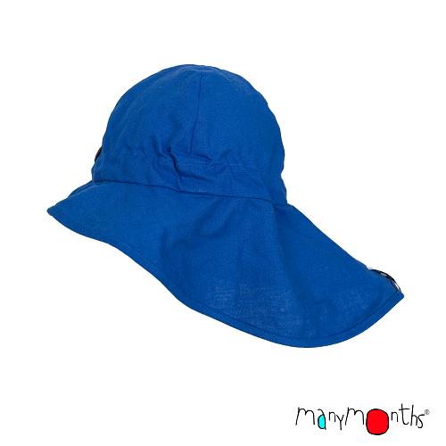 ManyMonths luchtig zomerhoedje van hennep Atlantic Blue
