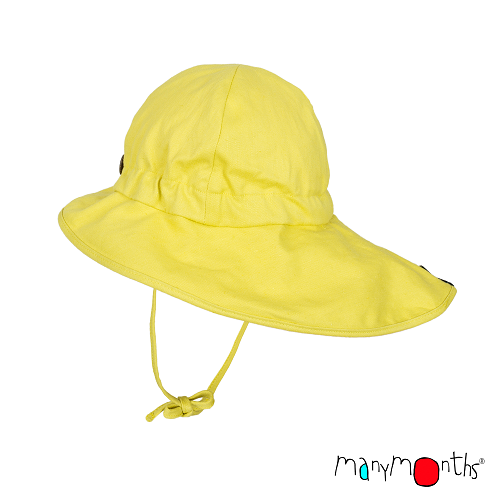 ManyMonths zomerhoedje Hennep/Bio katoen Banana Cream