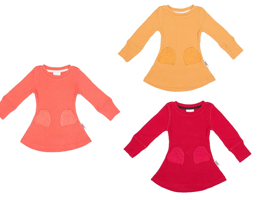 ManyMonths wollen Jurk met zakjes - Verschillende kleuren
