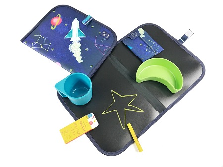 Set de table pliable Constellation + 4 craies Jaq Jaq Bird