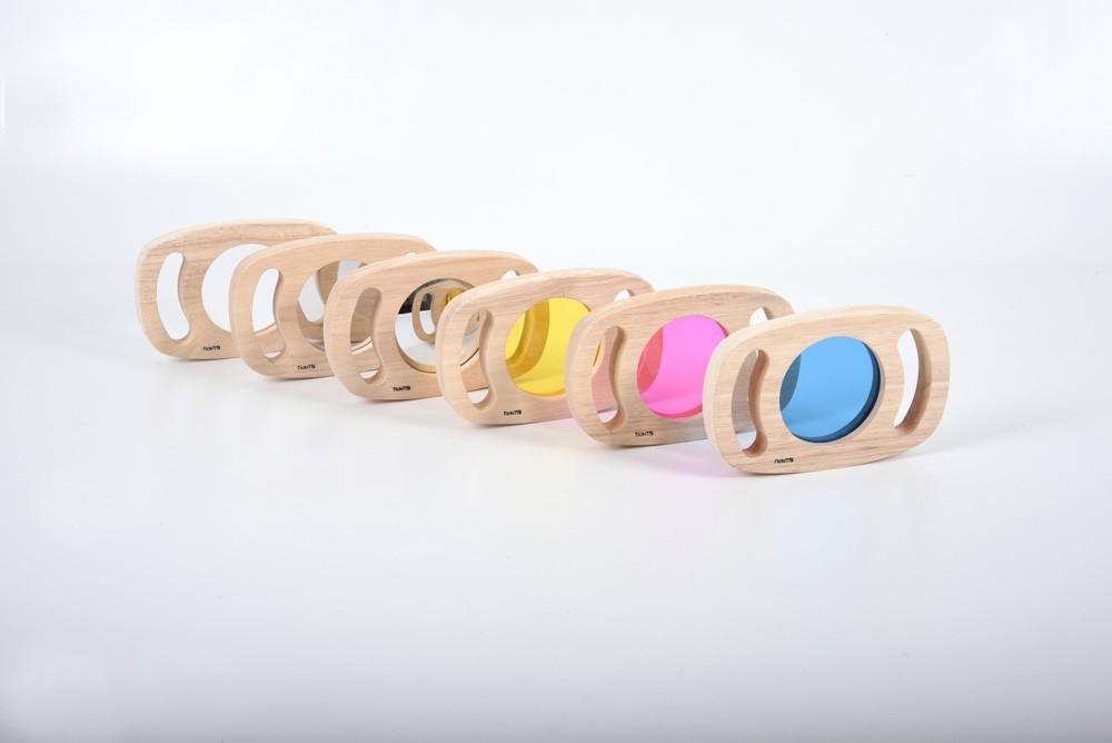 Découvrir les couleurs - Lot de 6 miroirs Tickit