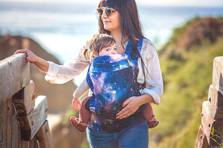 BECO Toddler draagzak Carine Nebula - vanaf 12kg